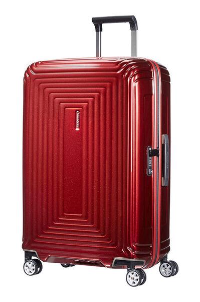 Neopulse Walizka na 4 kółkach 69cm Metallic Red