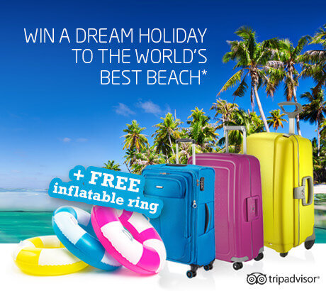 Win a holiday to the world's best beach