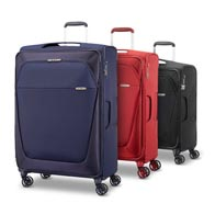 Large assortment of sizes, from cabin luggage to extra large suitcases.