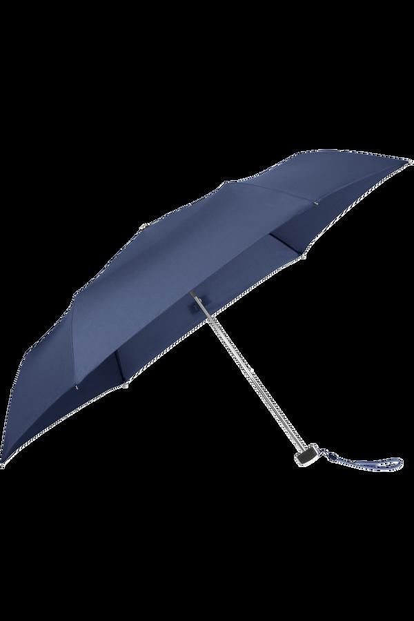 Samsonite Rain Pro Parasol Ultra Mini płaski 3 Sect. Niebieski