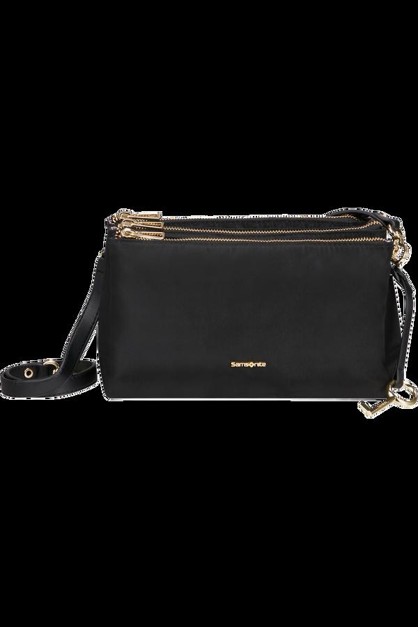 Samsonite Skyler Pro Horizontal Shoulder Bag 3 Comp S  Czarny