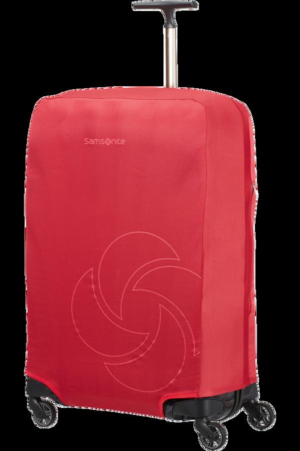 Samsonite Global Ta Foldable Luggage Cover M Czerwony