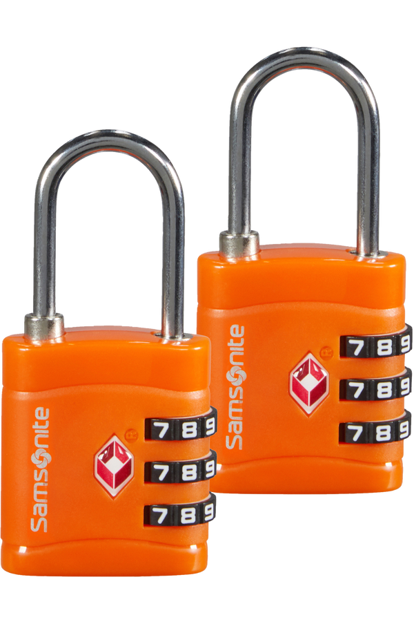 Samsonite Global Ta Combilock 3 dial TSA x2 Pomarańczowy