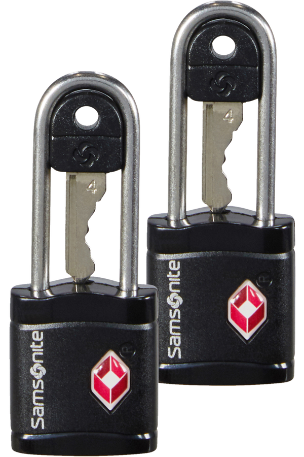 Samsonite Global Ta Key Lock TSA x2 Czarny