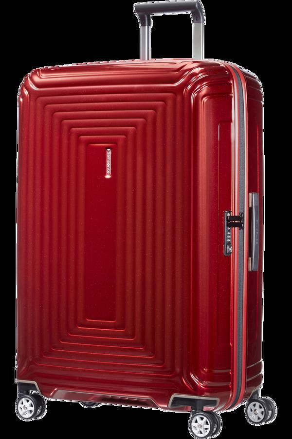 Samsonite Neopulse Spinner 75cm Czerwony Metalik