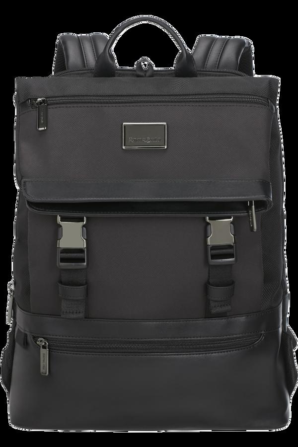 Samsonite Waymore Laptop Backpack Flap Slim  15.6inch Czarny