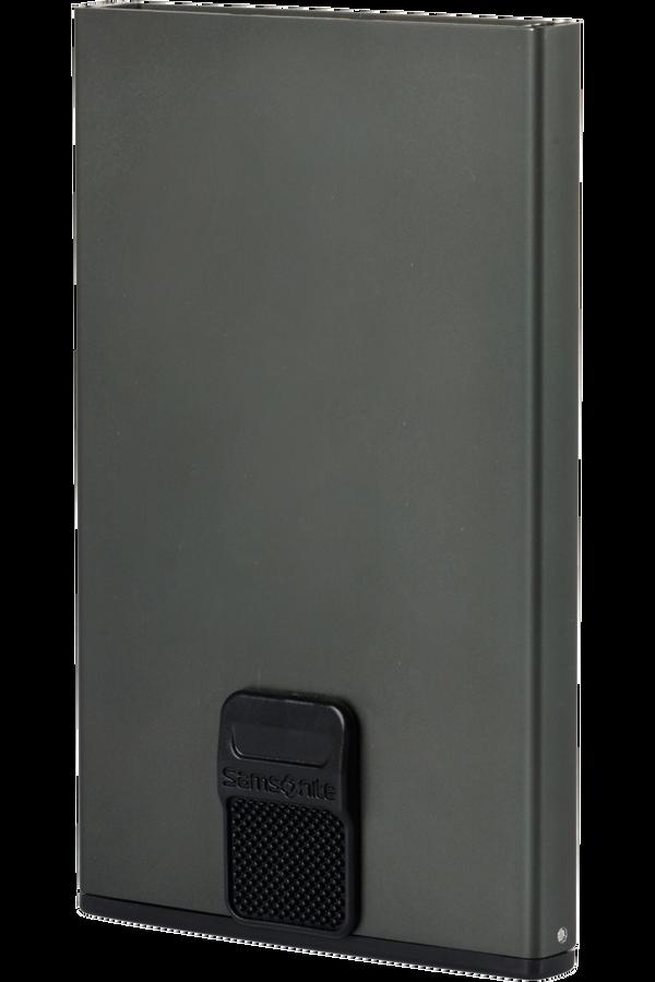 Samsonite Alu Fit 201 - Slide-up Case  Antracytowy