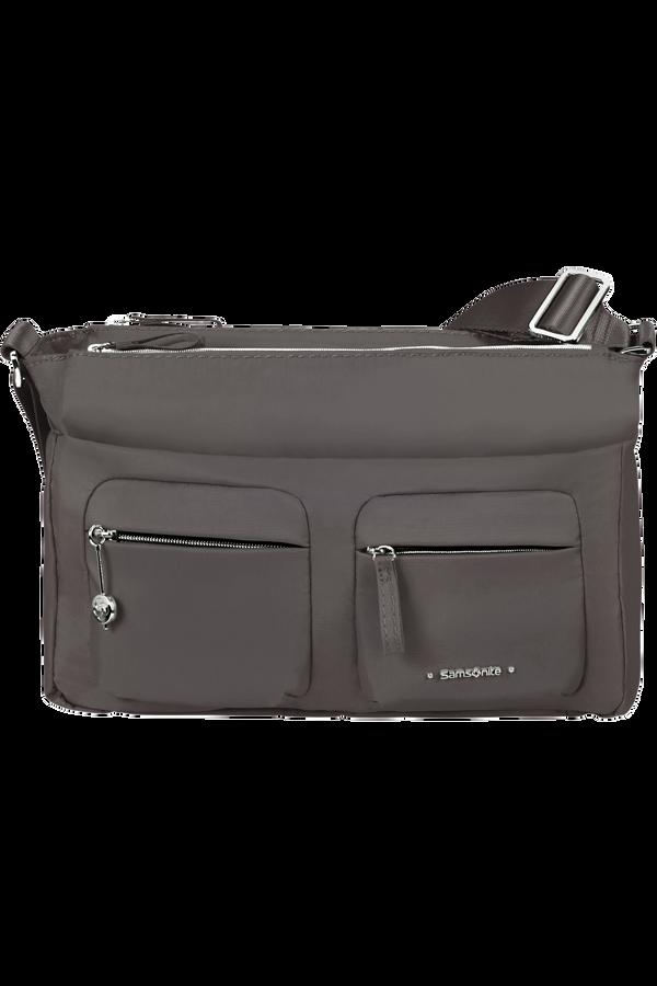 Samsonite Move 3.0 Horizontal Shoulder Bag + Flap  Ciemnoszary