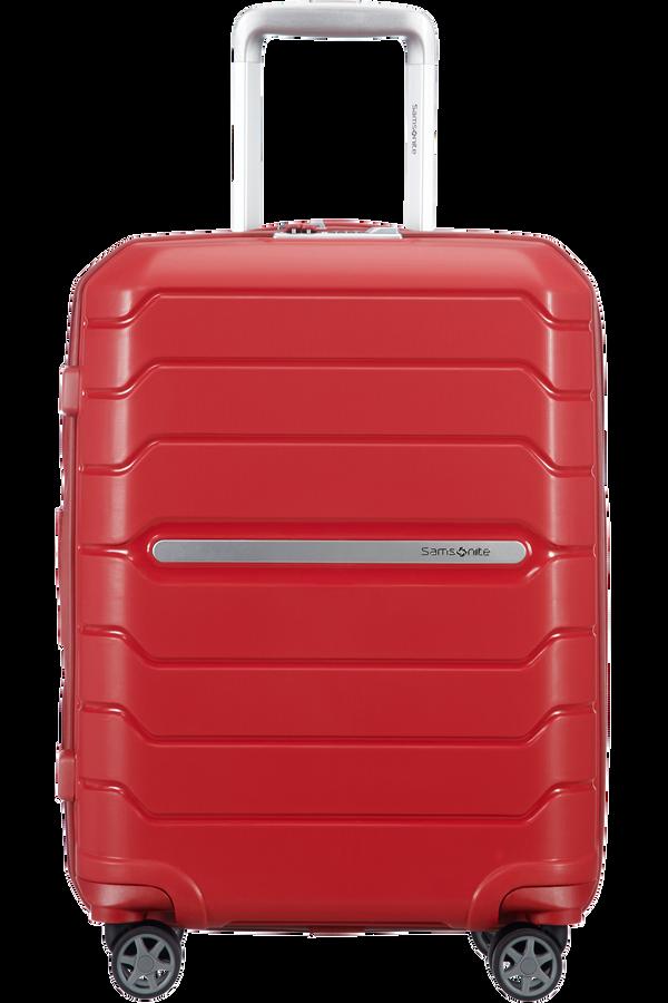 Samsonite Flux Spinner Expandable 55cm  Czerwony