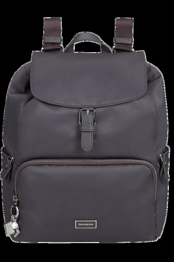 Samsonite Karissa 2.0 Backpack 3 Pockets 1 Buckle  Eco Dark Grey
