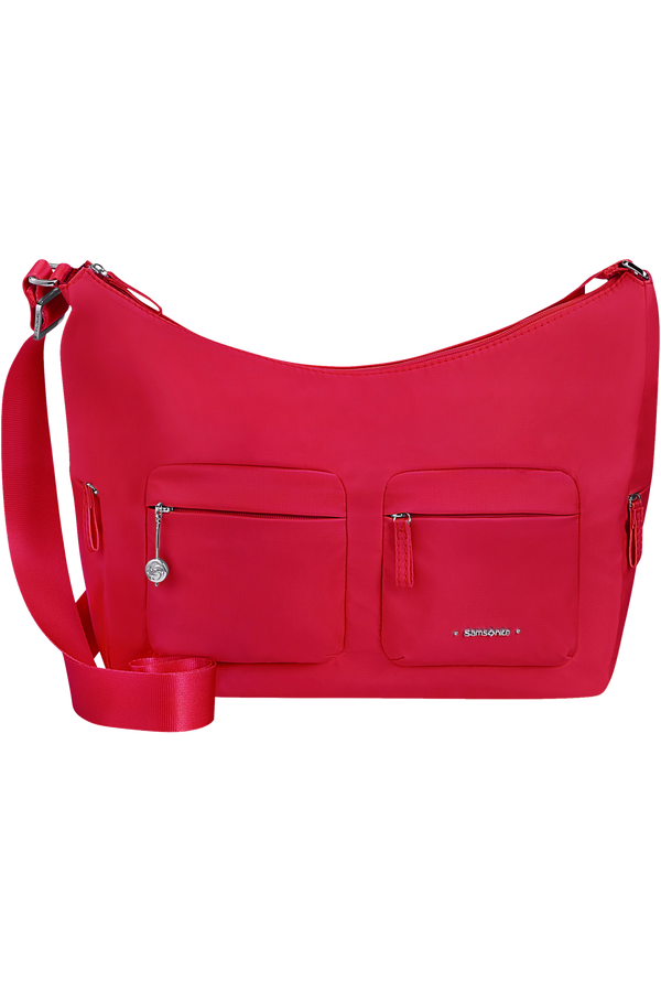 Samsonite Move 3.0 Shoulder Bag + 2 Pockets M  Cherry Red