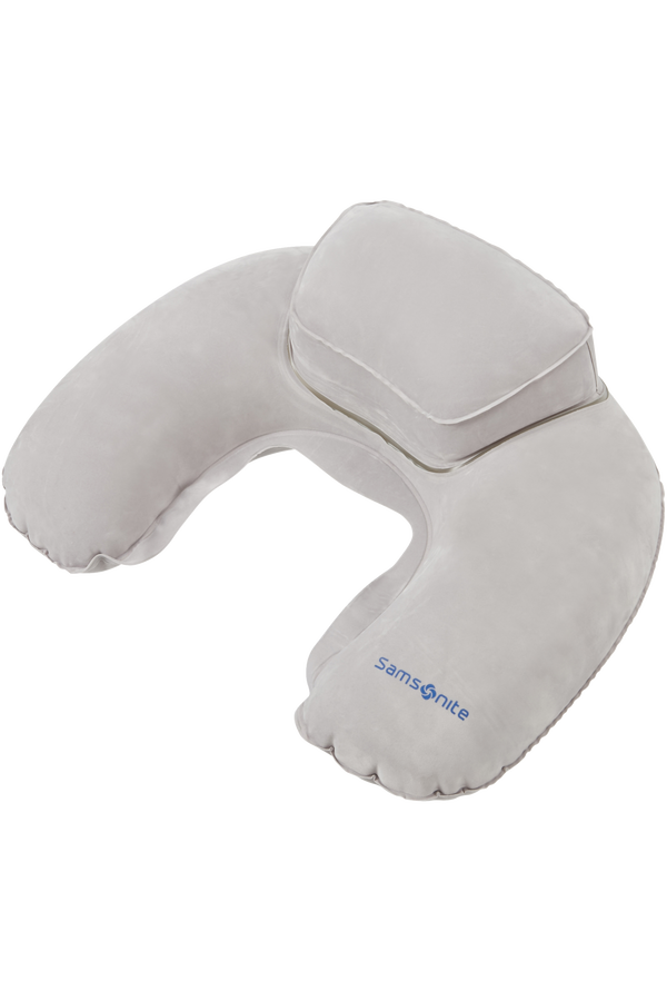 Samsonite Global Ta Double Comfort Pillow Grafitowy