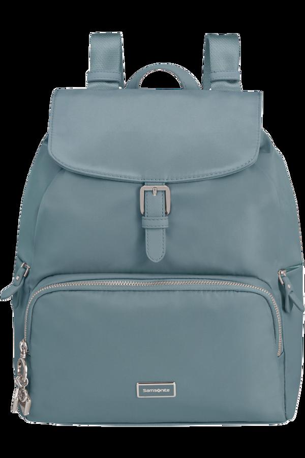 Samsonite Karissa 2.0 Backpack 3 Pockets 1 Buckle  Petrol Blue