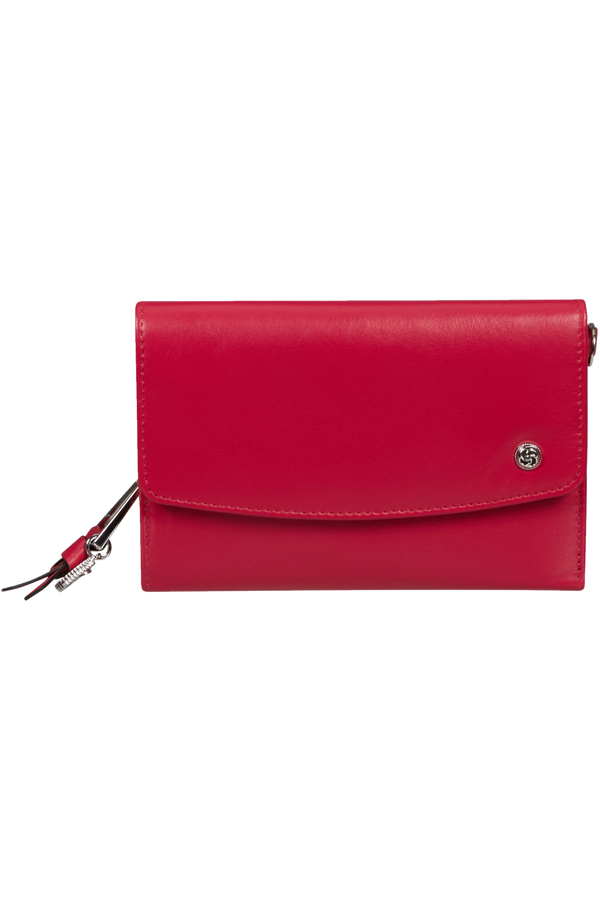 Samsonite Dame Jolie Slg 303 - L W 12CC+ZIP EXT M  Cherry Red