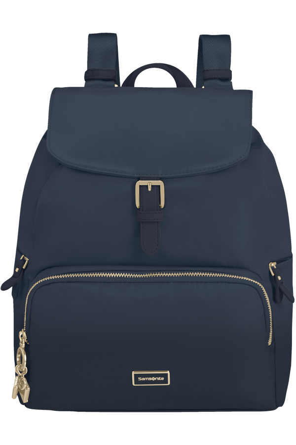 Samsonite Karissa 2.0 Backpack 3 Pockets 1 Buckle  Midnight Blue