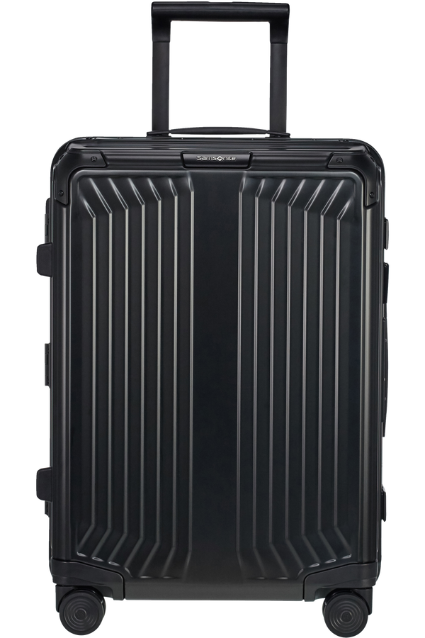 Samsonite Lite-Box Alu Spinner 55cm  Czarny