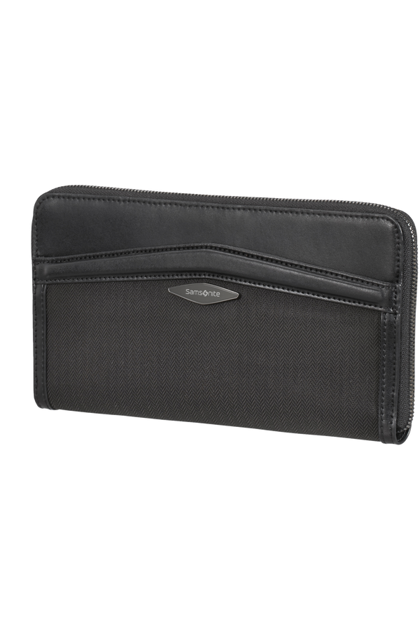 Samsonite Selar Travel Wallet  Czarny