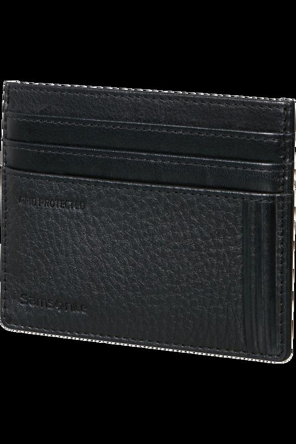 Samsonite Double Leather Slg 732 - 6CC H S  Czarny