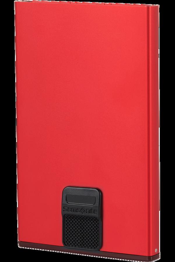 Samsonite Alu Fit 201 - Slide-up Case  Czerwony