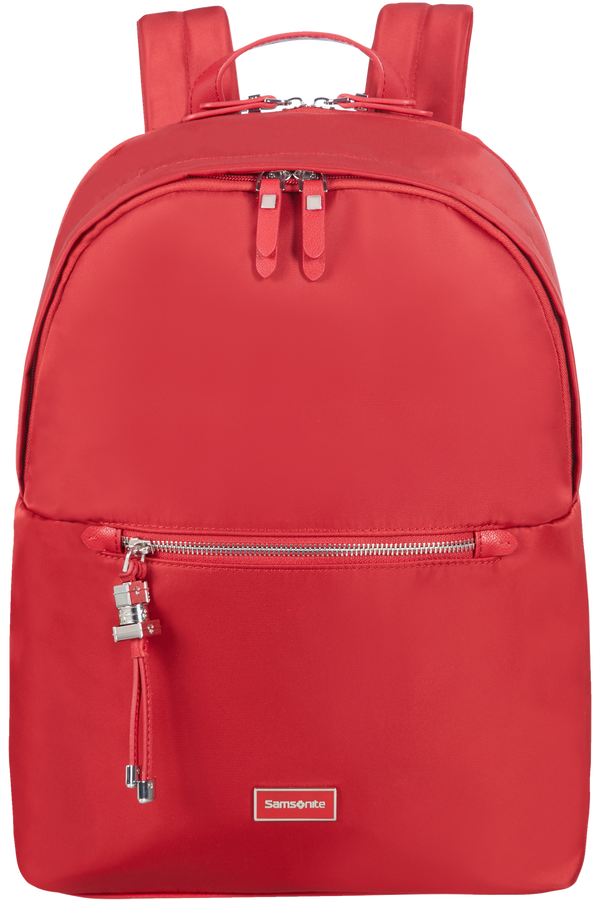 Samsonite Karissa Biz Round Backpack  35.8cm/14.1inch Formula Red