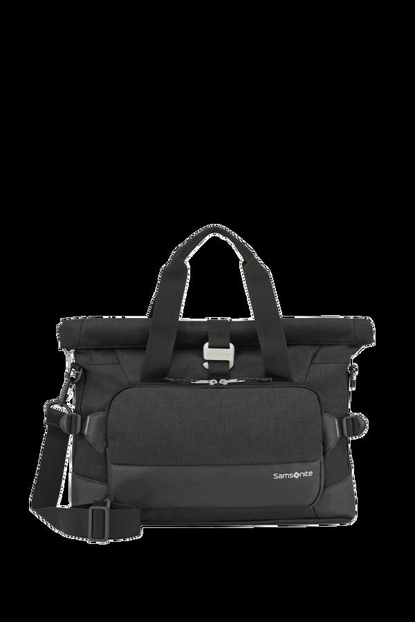 Samsonite Ziproll Laptop Shoulder Bag  Czarny