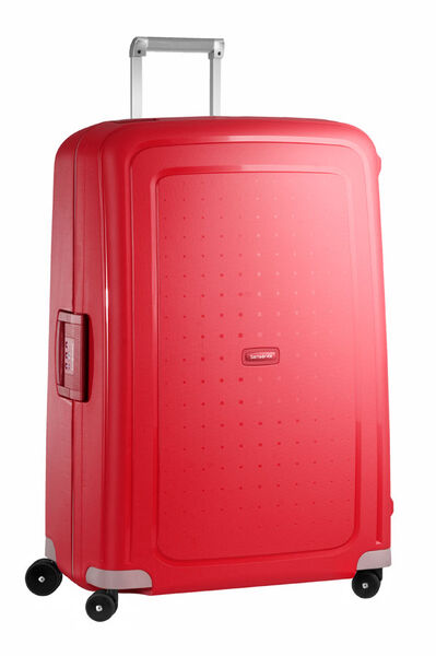 S'Cure Walizka na 4 kółkach 81cm Crimson Red