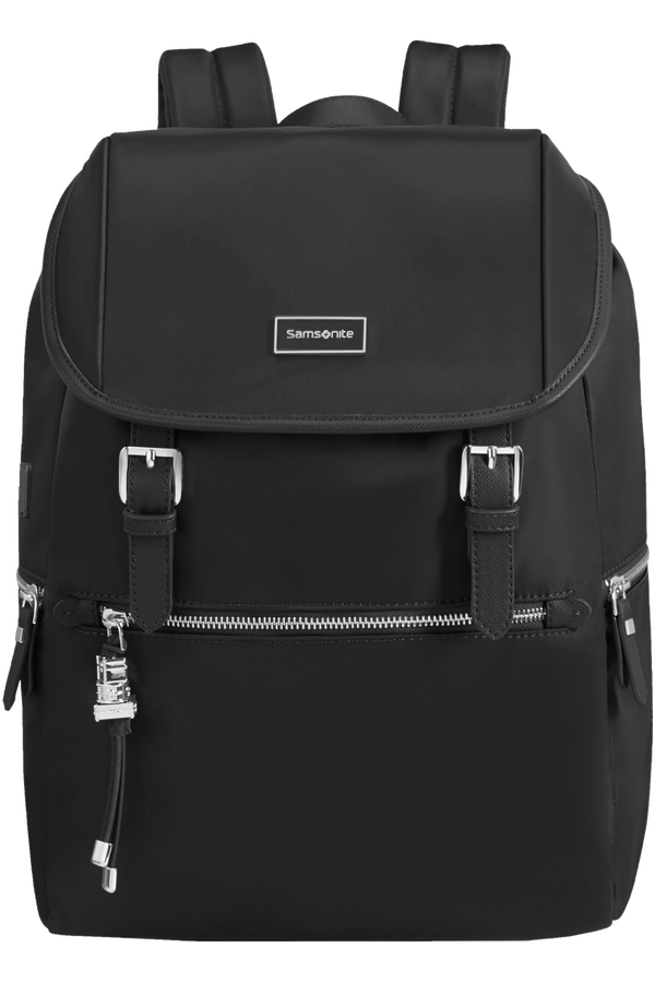 Samsonite Karissa Biz Backpack 14.1'+Flap W/Usb  Czarny