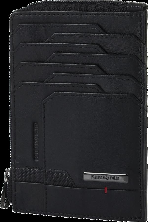 Samsonite Pro-Dlx 5 Slg 727-All in One Wallet Zip  Czarny