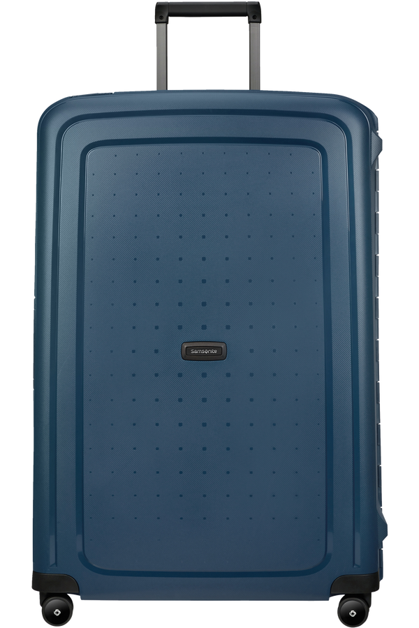 Samsonite S'cure Eco Spinner Post Consumer 81cm  Navy Blue