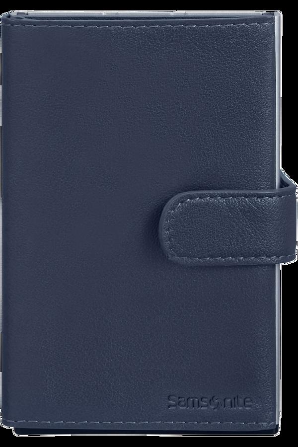 Samsonite Alu Fit 202 - Slide-up Wallet  Niebieski