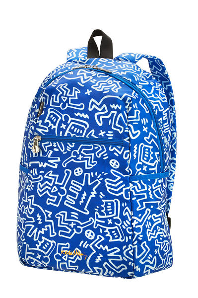 Travel Accessories Plecak Graffiti Blue