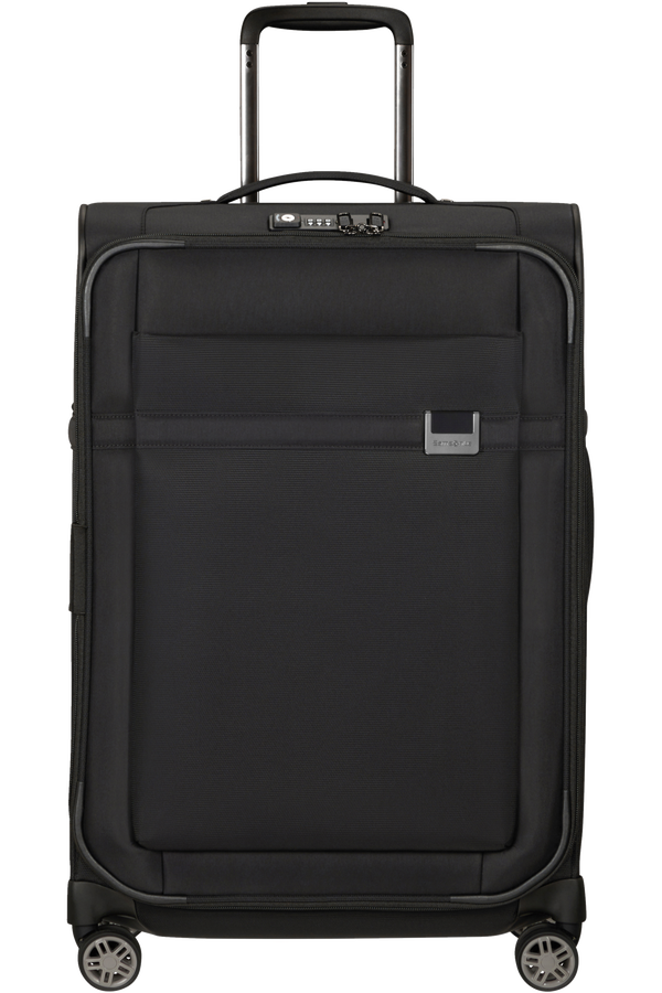 Samsonite Airea Spinner Expandable 67cm  Czarny