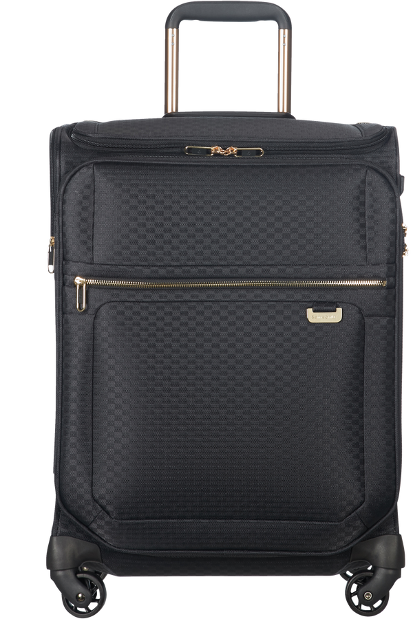 Samsonite Uplite Spinner Toppocket 55cm  Black/Gold