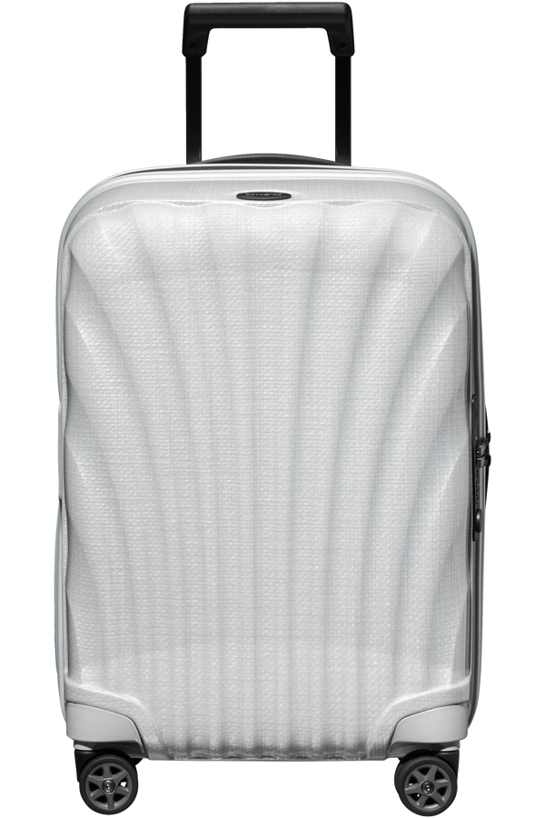 Samsonite C-Lite Spinner Expandable 55cm  Off White