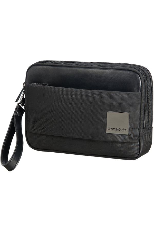 Samsonite Hip-Square Clutch S 2 Compartments  Czarny