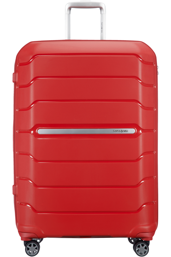 Samsonite Flux Spinner Expandable 75cm  Czerwony