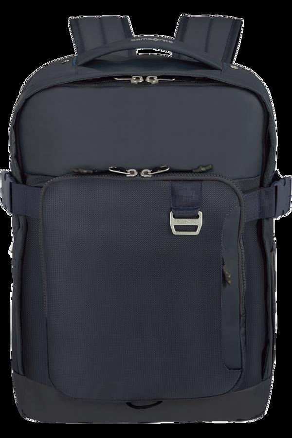 Samsonite Midtown Laptop Backpack Expandable L 15.6inch Ciemnoniebieski