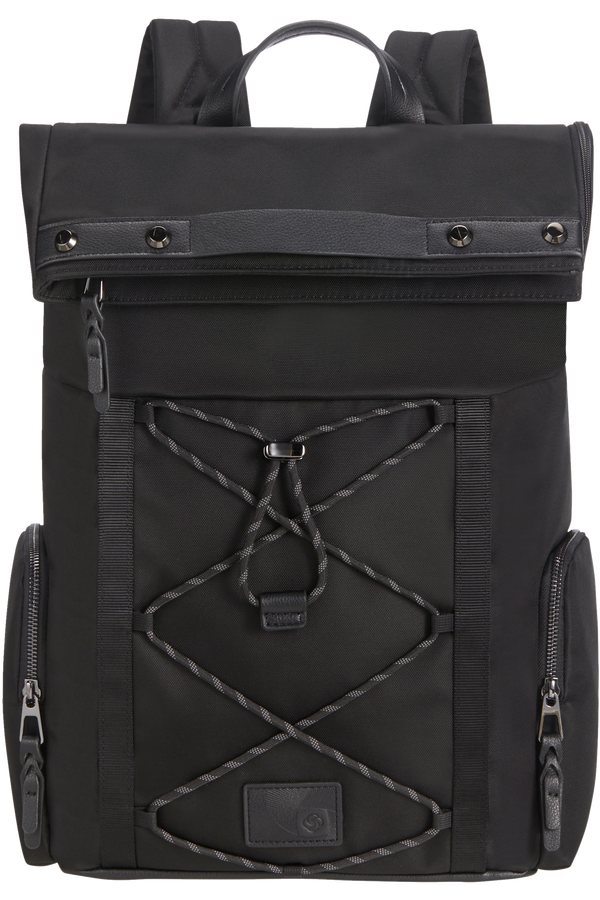 Samsonite Yourban Backpack + Flap  15.6inch Czarny