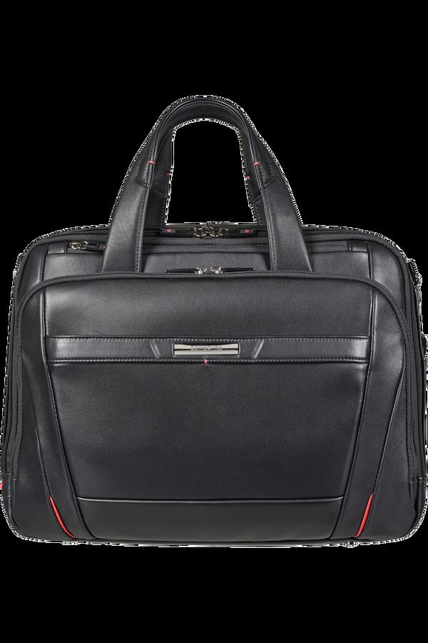 Samsonite Pro-Dlx 5 Lth Laptop Bailhandle Expandable  15.6inch Czarny