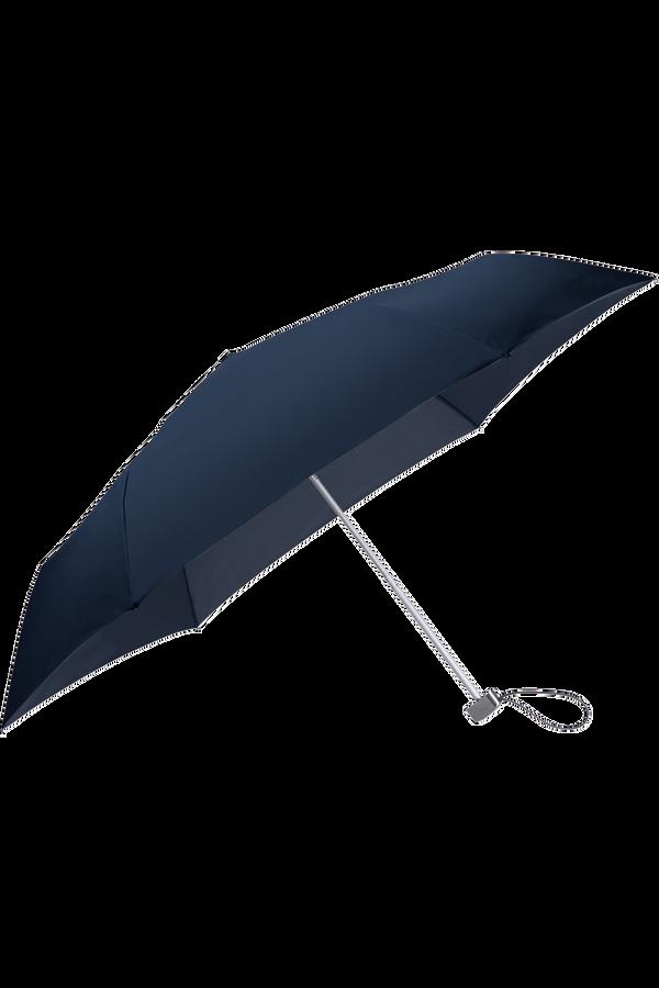 Samsonite Rain Pro Parasol manualny płaski 3 Sect. Niebieski