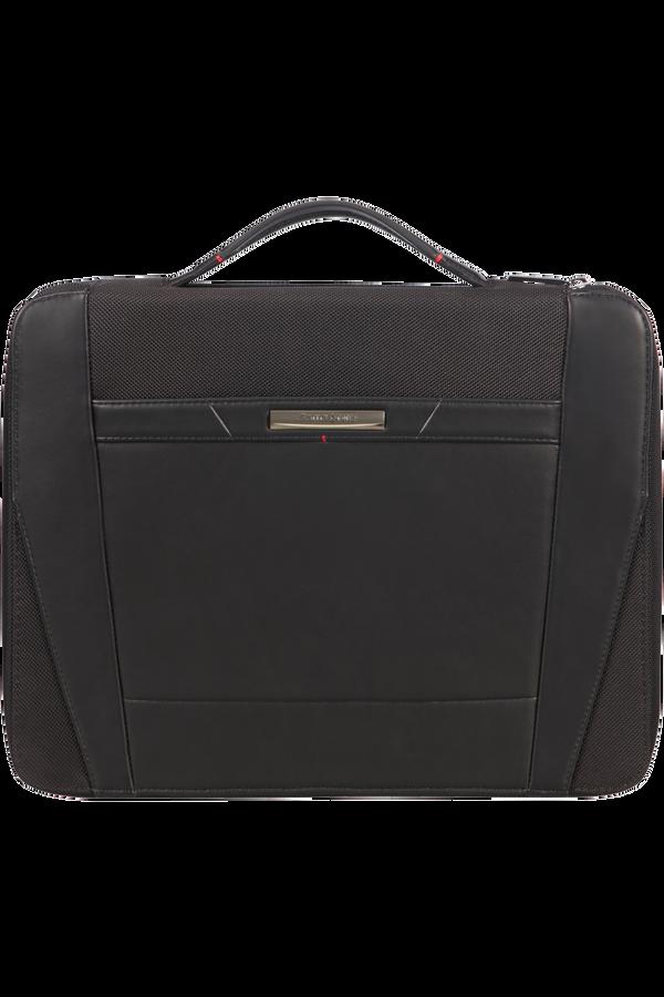 Samsonite Stationery Pro-Dlx 5 Zip Folder A4 Top H+Det B  Czarny