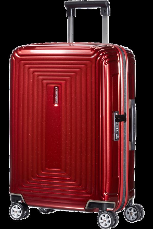 Samsonite Neopulse Spinner 55cm Czerwony Metalik