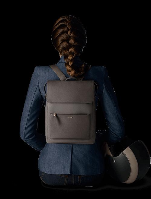 "Zalia rectangular backpack 14.1"""