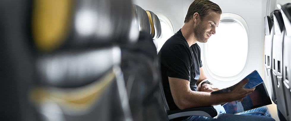 Fly easy, knowing your checked bag is onboard.