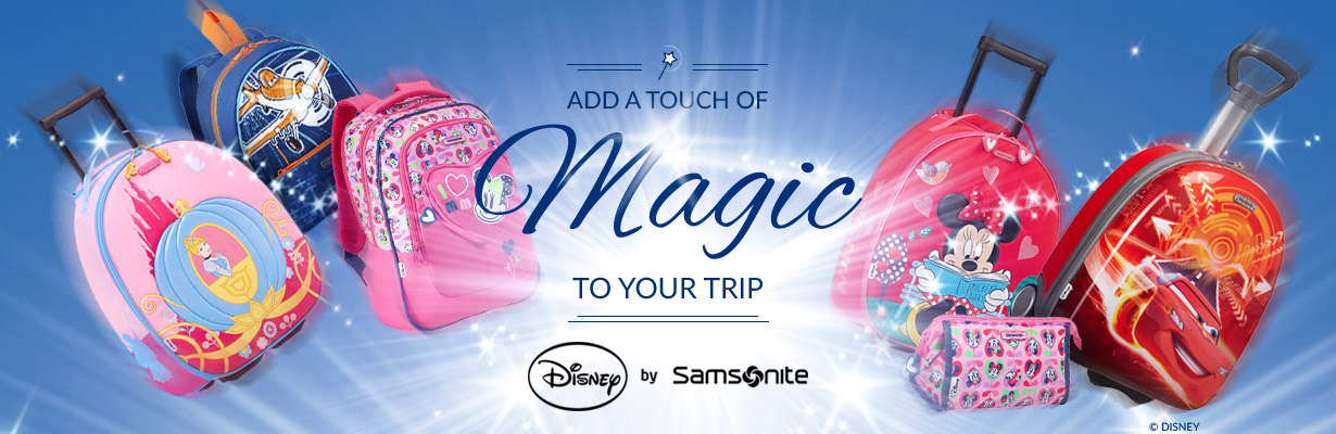 Add a Touch of Magic to your Trip | Disney by Samsonite