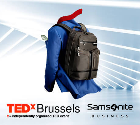 Get inspired for your business with TEDx and Samsonite