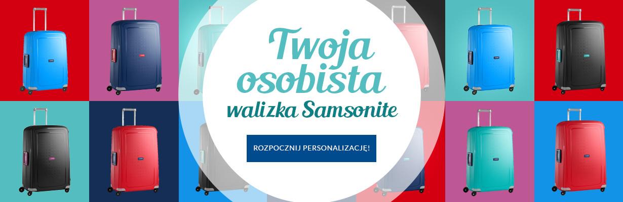 Twoja osobista walizka Samsonite