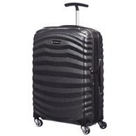 Unikalne, inspirowane naturą narożniki walizki, pochłaniają wstrząsy.
