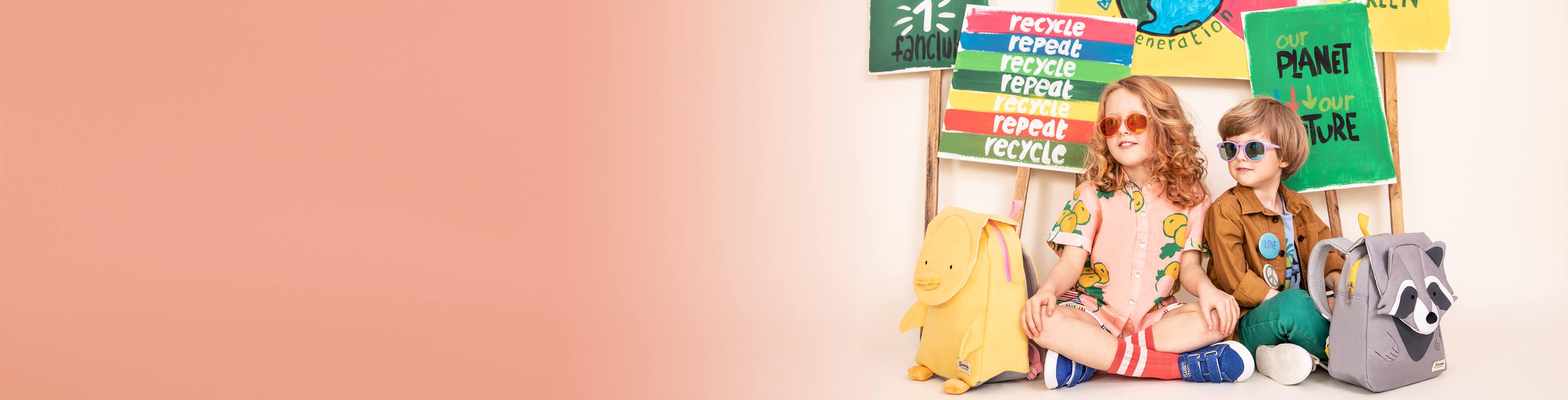 Ekologiczne Torby i Walizki dla dzieci